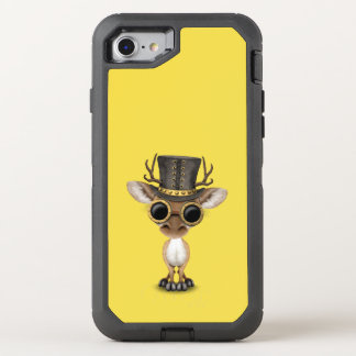 Cute Steampunk Baby Deer OtterBox Defender iPhone 8/7 Case