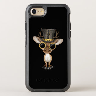Cute Steampunk Baby Deer OtterBox Symmetry iPhone 8/7 Case