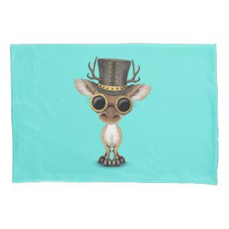 Cute Steampunk Baby Deer Pillowcase