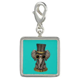 Cute Steampunk Baby Elephant Cub