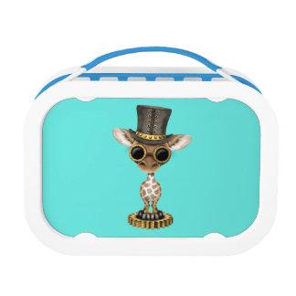 Cute Steampunk Baby Giraffe Lunch Box
