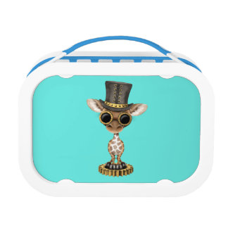 Cute Steampunk Baby Giraffe Lunchbox