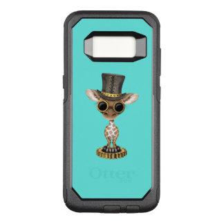 Cute Steampunk Baby Giraffe OtterBox Commuter Samsung Galaxy S8 Case