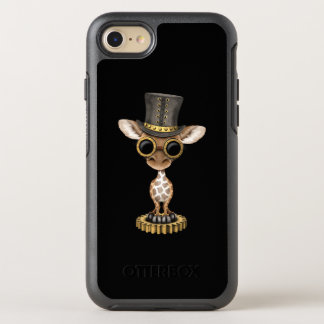 Cute Steampunk Baby Giraffe OtterBox Symmetry iPhone 8/7 Case
