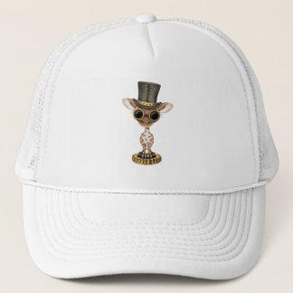 Cute Steampunk Baby Giraffe Trucker Hat