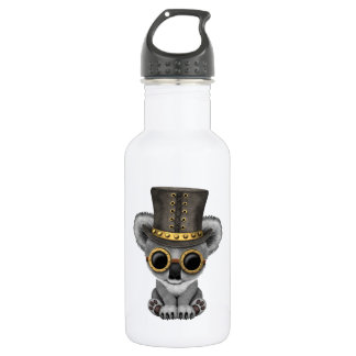 Cute Steampunk Baby Koala Bear 532 Ml Water Bottle
