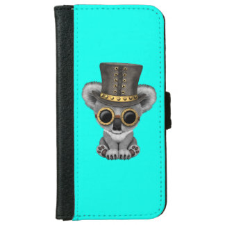 Cute Steampunk Baby Koala Bear iPhone 6 Wallet Case