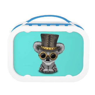 Cute Steampunk Baby Koala Bear Lunch Box