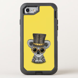 Cute Steampunk Baby Koala Bear OtterBox Defender iPhone 8/7 Case