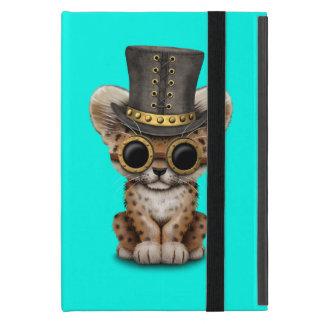Cute Steampunk Baby Leopard Cub Case For iPad Mini