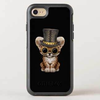 Cute Steampunk Baby Leopard Cub OtterBox Symmetry iPhone 8/7 Case
