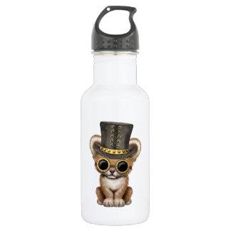 Cute Steampunk Baby Lion Cub 532 Ml Water Bottle