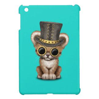 Cute Steampunk Baby Lion Cub Case For The iPad Mini