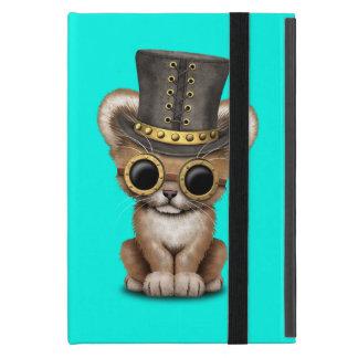 Cute Steampunk Baby Lion Cub iPad Mini Cover
