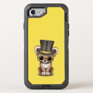 Cute Steampunk Baby Lion Cub OtterBox Defender iPhone 8/7 Case