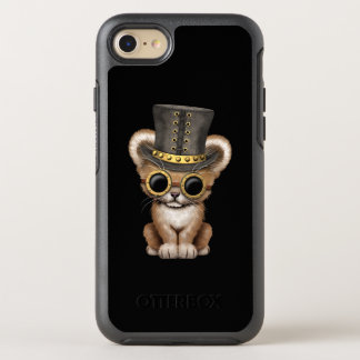 Cute Steampunk Baby Lion Cub OtterBox Symmetry iPhone 8/7 Case