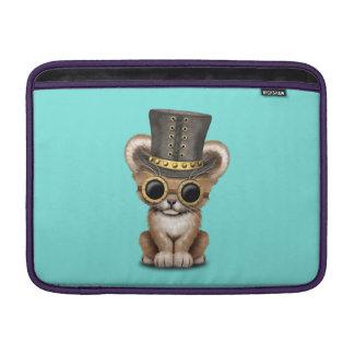 Cute Steampunk Baby Lion Cub Sleeve For MacBook Air