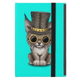 Cute Steampunk Baby Lynx Cub Case For iPad Mini