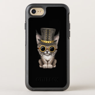 Cute Steampunk Baby Lynx Cub OtterBox Symmetry iPhone 8/7 Case