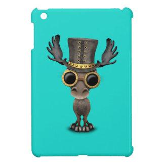 Cute Steampunk Baby Moose iPad Mini Covers