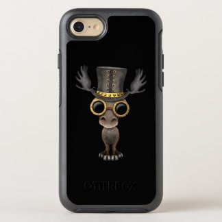 Cute Steampunk Baby Moose OtterBox Symmetry iPhone 8/7 Case