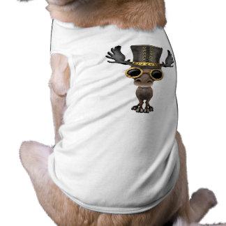 Cute Steampunk Baby Moose Shirt