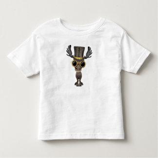 Cute Steampunk Baby Moose Toddler T-Shirt