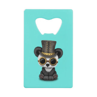 Cute Steampunk Baby Panda Bear Cub