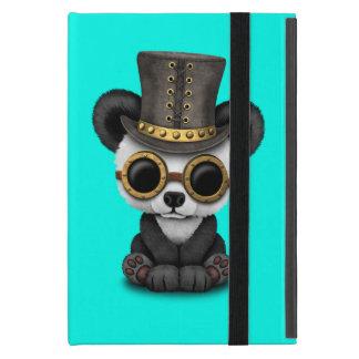 Cute Steampunk Baby Panda Bear Cub Cover For iPad Mini
