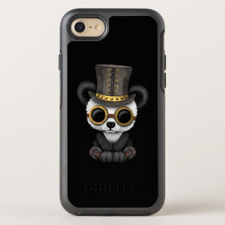 Cute Steampunk Baby Panda Bear Cub OtterBox Symmetry iPhone 8/7 Case