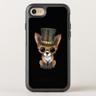 Cute Steampunk Baby Red Fox OtterBox Symmetry iPhone 8/7 Case