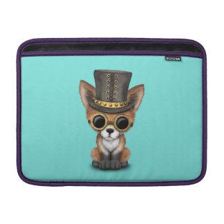 Cute Steampunk Baby Red Fox Sleeve For MacBook Air