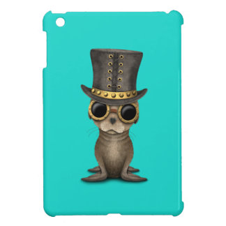 Cute Steampunk Baby Sea Lion Cover For The iPad Mini