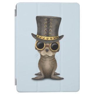 Cute Steampunk Baby Sea Lion iPad Air Cover