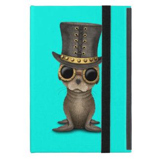 Cute Steampunk Baby Sea Lion iPad Mini Cover