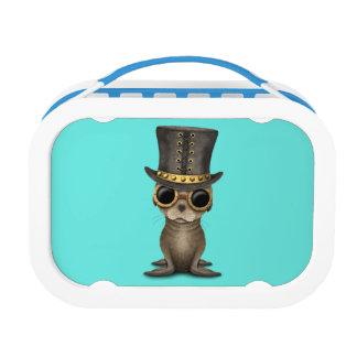 Cute Steampunk Baby Sea Lion Lunch Box