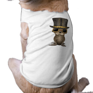 Cute Steampunk Baby Sea Lion Shirt