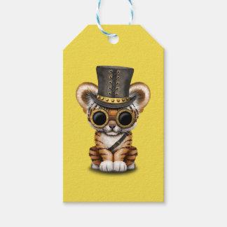 Cute Steampunk Baby Tiger Cub Gift Tags