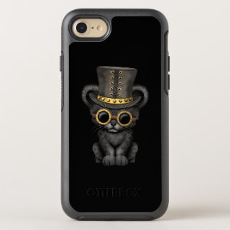 Cute Steampunk Black Panther Cub OtterBox Symmetry iPhone 8/7 Case