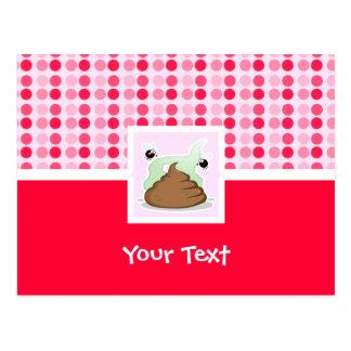 Cute Stinky Poo Postcard