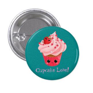 Cute Strawberry Cupcake Pin
