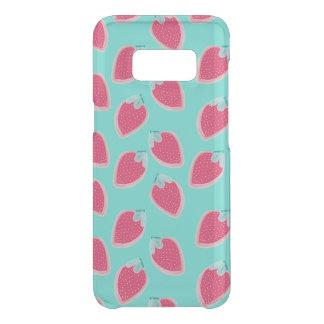 Cute Strawberry Fruit Pattern Uncommon Samsung Galaxy S8 Case