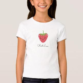 Cute Strawberry Heart Fruit Love Shirt