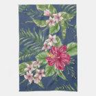 Cute Stylish Colours Tropical Hawaii Floral Tea Towel