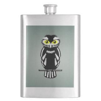 Cute Stylized Owl Flasks