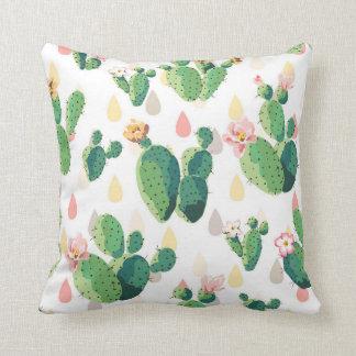 Cute Succulent Lovely Cactus Pillow