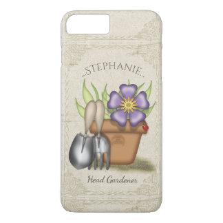 Cute Summer Gardening iPhone 8 Plus/7 Plus Case