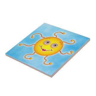 Cute Sun Tile