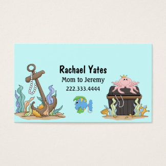 Cute Sunken Treasure Mommy Card