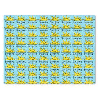Cute sunshine pattern tissue paper